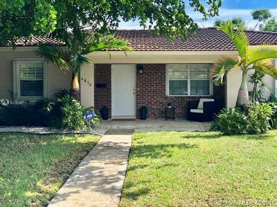 South Miami Single Family Home For Sale: 6870 SW 49th St