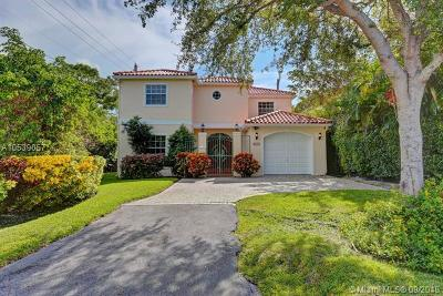 Coral Gables Single Family Home For Sale: 4001 Toledo