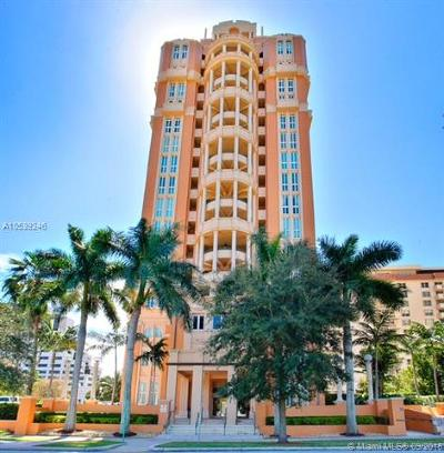 Coral Gables Condo/Townhouse For Sale: 600 Coral Way #3
