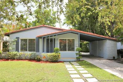 Coral Gables Single Family Home For Sale: 1264 Milan Ave
