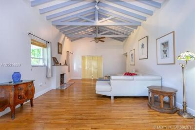 Coral Gables Single Family Home For Sale: 1801 Cordova St