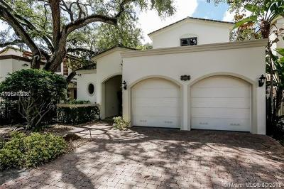 Coconut Grove Single Family Home For Sale: 1668 Micanopy Ave