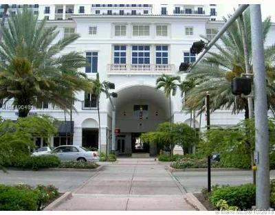 Coral Gables Condo/Townhouse For Sale: 10 Aragon Ave #1204