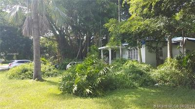 South Miami Single Family Home For Sale: 6747 SW 78th Terrace