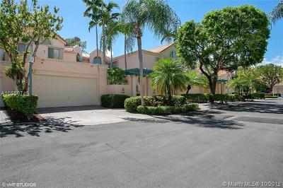 Pinecrest Condo/Townhouse For Sale: 6706 SW 88th Ter #6706
