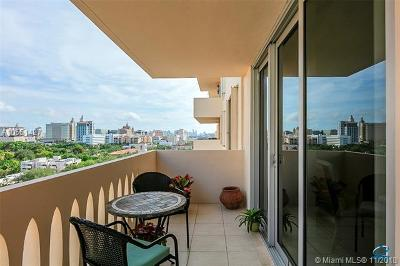 Coral Gables Condo/Townhouse For Sale: 625 Biltmore Way #1206