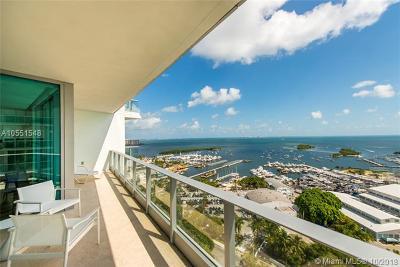 Coconut Grove Condo/Townhouse For Sale: 2627 S Bayshore Dr #2302