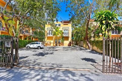 Coconut Grove Condo/Townhouse For Sale: 2861 Coconut Ave #2861