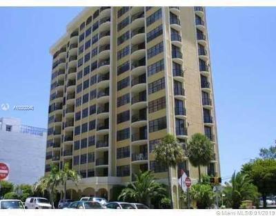 Coral Gables Condo/Townhouse For Sale: 66 Valencia Ave #1102A