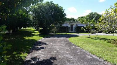 Pinecrest Single Family Home For Sale: 7800 SW 110th St