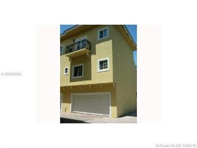 Coconut Grove Condo/Townhouse For Sale: 2919 SW Coconut Av #5