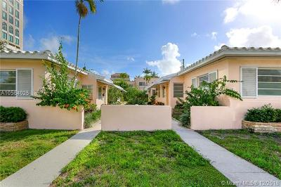 Coral Gables Multi Family Home For Sale: 218 Mendoza Ave