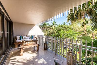 Coconut Grove Condo/Townhouse For Sale: 3 Grove Isle Dr #C207