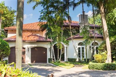 Coconut Grove Single Family Home For Sale: 3835 Park Ave