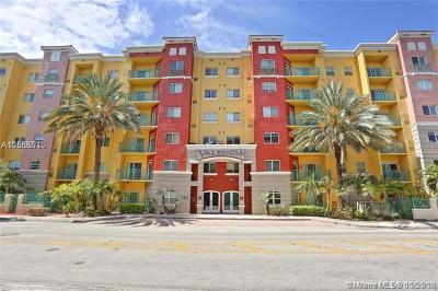 South Miami Condo/Townhouse For Sale: 6001 SW 70th St #312