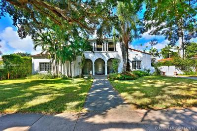 Coral Gables Single Family Home For Sale: 2010 Country Club Prado