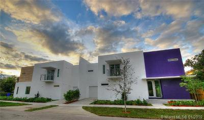Coconut Grove Condo/Townhouse For Sale: 3400 Shipping Ave