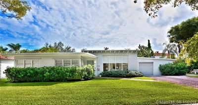 South Miami Single Family Home For Sale: 5730 SW 48th St