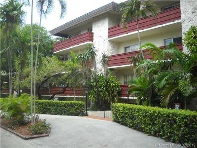 Coral Gables Condo/Townhouse For Sale: 1205 Mariposa Ave #206