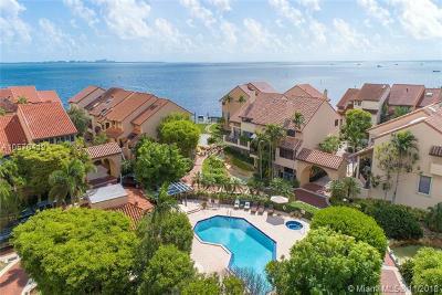 Coconut Grove Condo/Townhouse For Sale: 2000 S Bayshore Dr #71