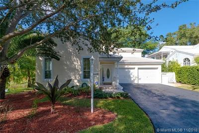 South Miami Single Family Home For Sale: 6481 Sunset Dr