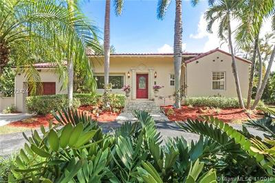 Coral Gables Single Family Home For Sale: 3915 Monserrate St
