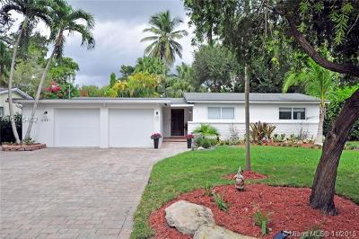 South Miami Single Family Home For Sale: 6481 SW 74th St