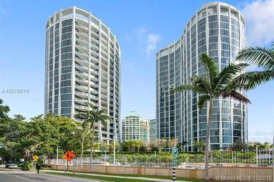 Coconut Grove Condo/Townhouse For Sale: 2831 S Bayshore Dr #1803