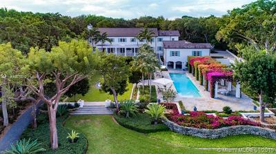 Coral Gables Single Family Home For Sale: 8585 Old Cutler Rd