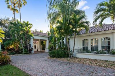 South Miami Single Family Home For Sale: 6550 SW 67th Ave