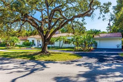 Coral Gables Single Family Home For Sale: 650 University Dr