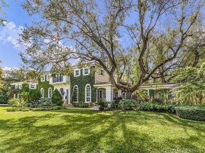 Coral Gables Single Family Home For Sale: 506 Sunset Drive