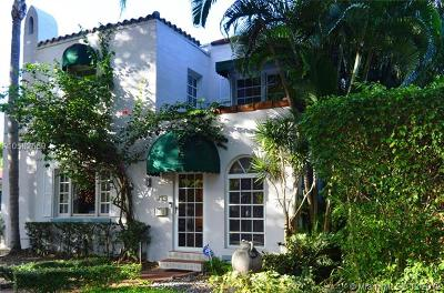 Coral Gables Single Family Home For Sale: 913 Medina Ave