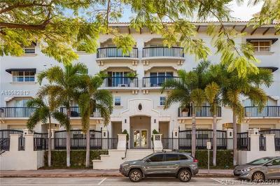 Coral Gables Condo/Townhouse For Sale: 50 Alhambra Cir #412