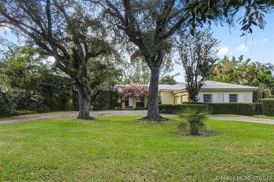 Coral Gables Single Family Home For Sale: 5030 Granada Blvd