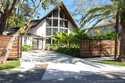 Coconut Grove Single Family Home For Sale: 3025 Blaine St