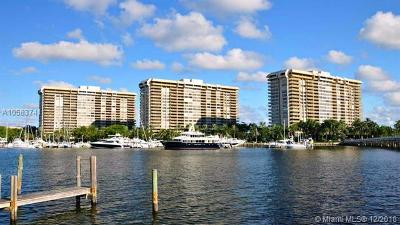 Coconut Grove Condo/Townhouse For Sale: 1 Grove Isle Dr #A1001