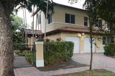 Pinecrest Condo/Townhouse For Sale: 7305 SW 96th St #7305