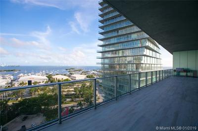 Coconut Grove Condo/Townhouse For Sale: 2669 S Bayshore Dr #1102N