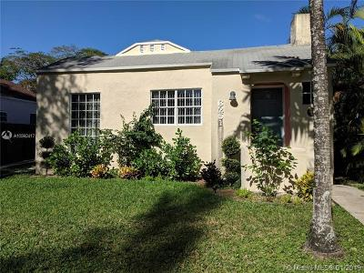 South Miami Single Family Home For Sale: 6251 SW 57th St