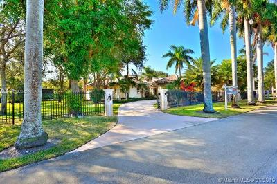 Pinecrest FL Single Family Home For Sale: $2,700,000