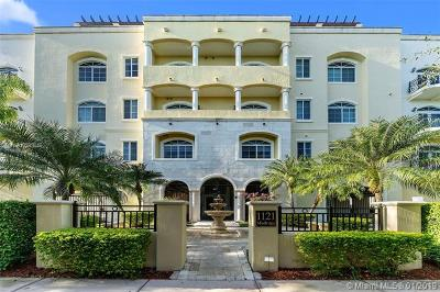 Coral Gables Condo/Townhouse For Sale: 1121 Madruga Ave #203
