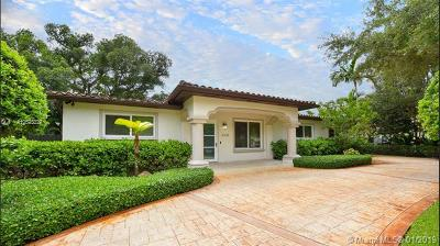 South Miami Single Family Home For Sale: 6230 SW 58th St