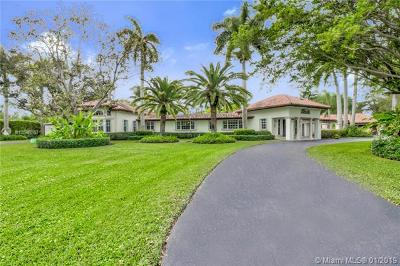 Pinecrest FL Single Family Home For Sale: $2,150,000