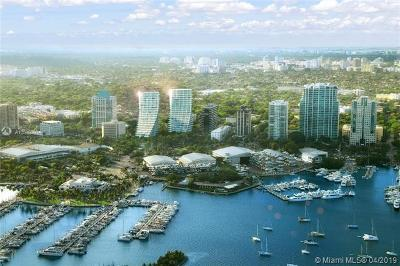 Coconut Grove Condo/Townhouse For Sale: 2669 S Bayshore Dr #701N