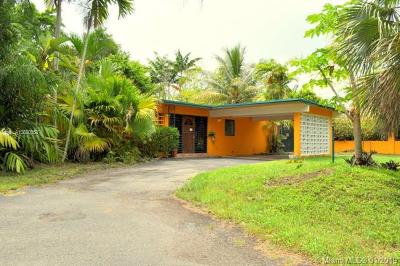 Pinecrest Single Family Home For Sale: 12560 SW 81st Ave