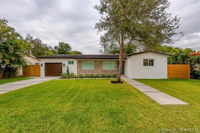 South Miami Single Family Home For Sale: 6311 SW 49th St