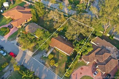 South Miami Single Family Home For Sale: 6255 SW 62nd Ct