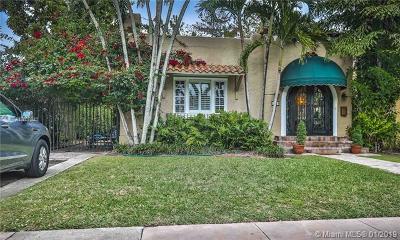 Coral Gables Single Family Home For Sale: 1119 Obispo Ave