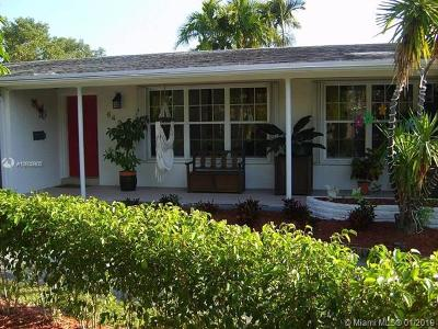 South Miami Single Family Home For Sale: 6420 SW 62nd Ter